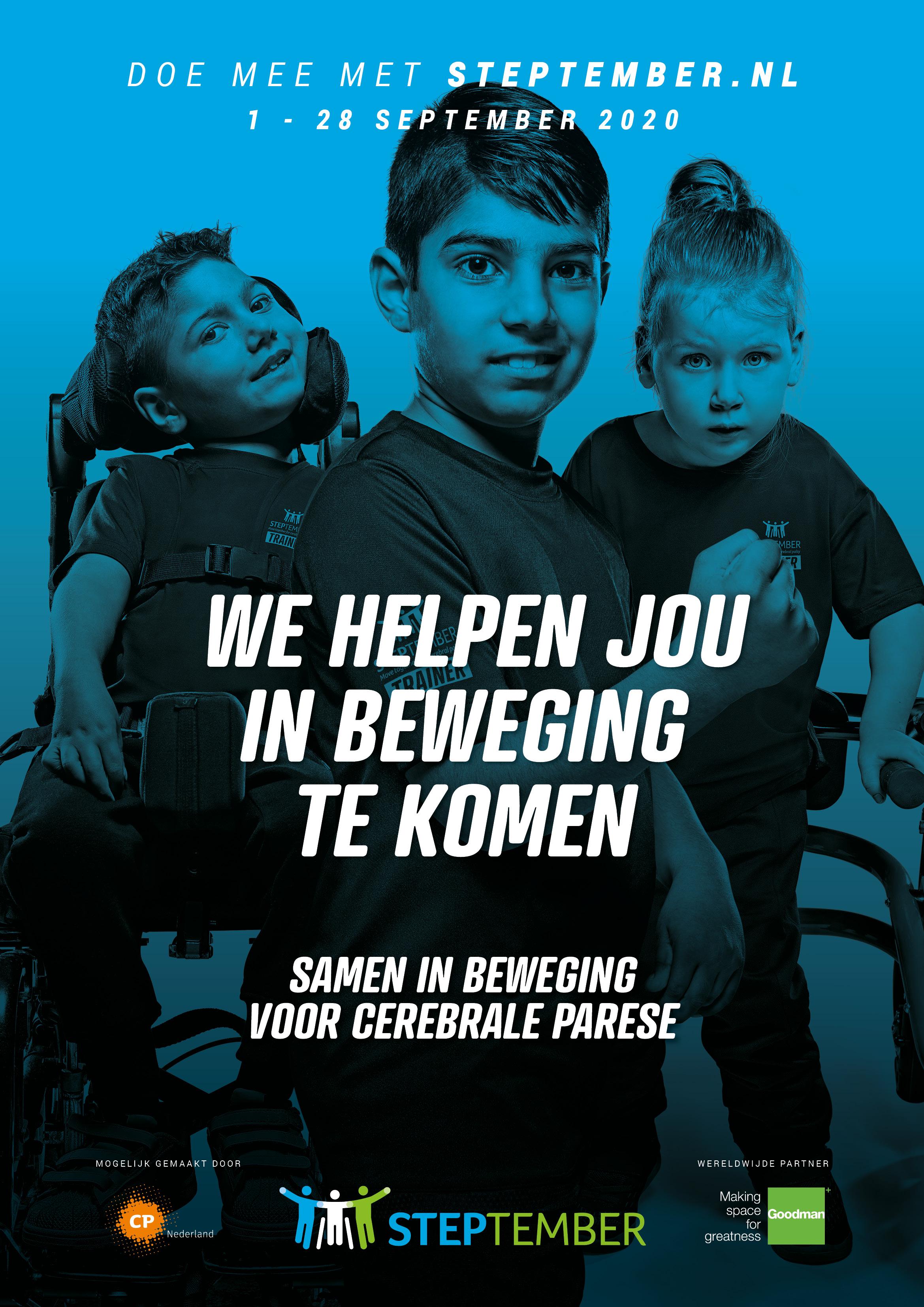 Steptember poster NL werving 1