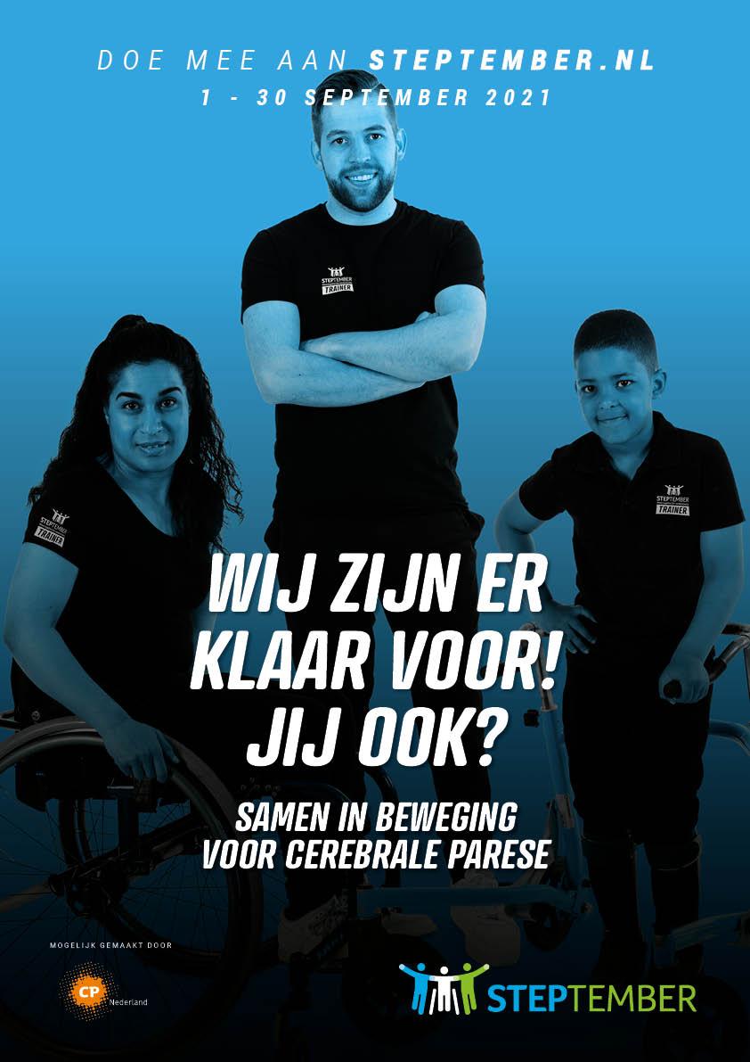 STEPtember poster NL 1